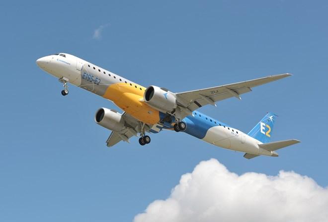E195-E2 First Flight