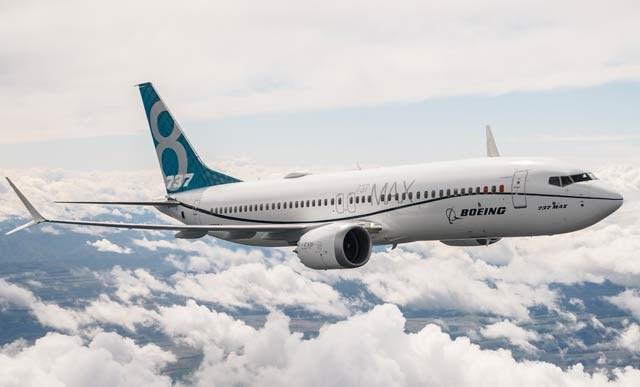 737 Max 8 Flight