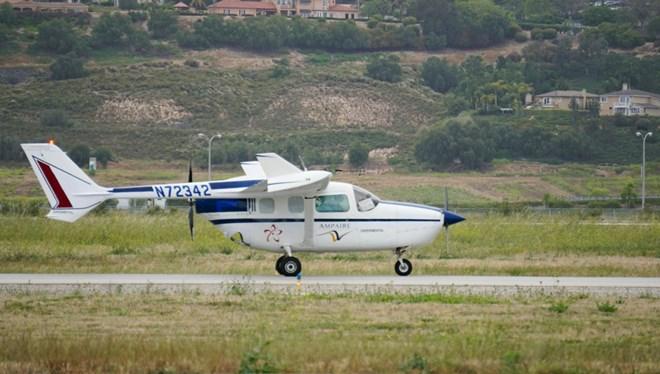 Ampaire experimental Cessna 337
