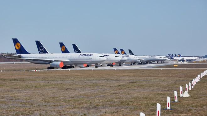 Lufthansa-stored fleet storage