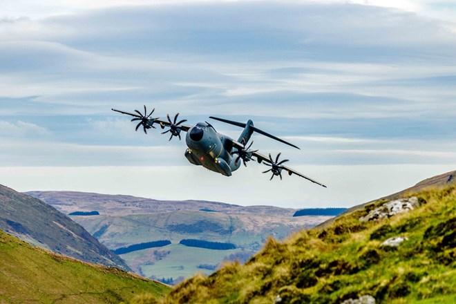 A400M Low Level Flights_