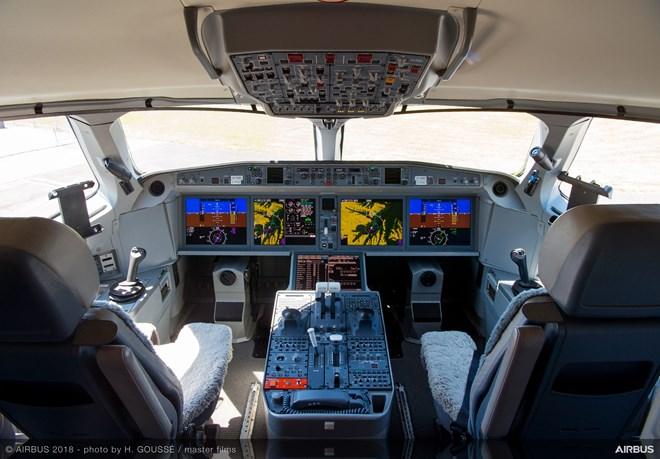 A220 cockpit-c-Airbus
