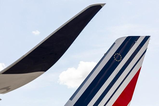 Air France Airbus A350 tail