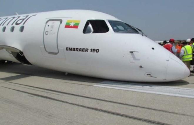 Myanmar E190 nose contact