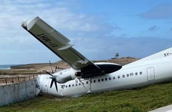 Fokker 50 accident