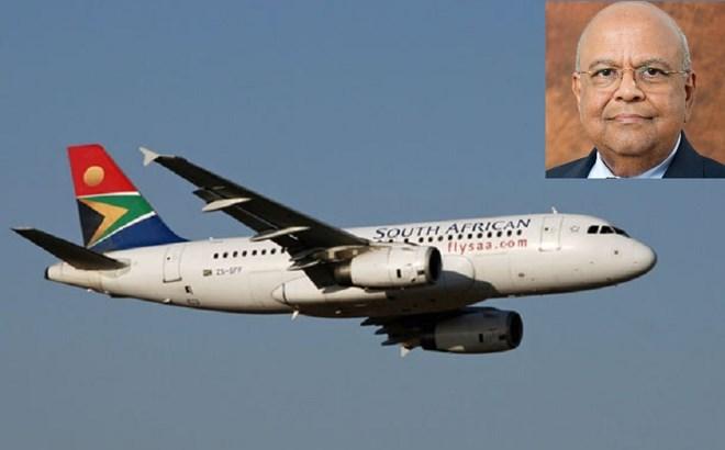 SAA Airbus and Gordhan