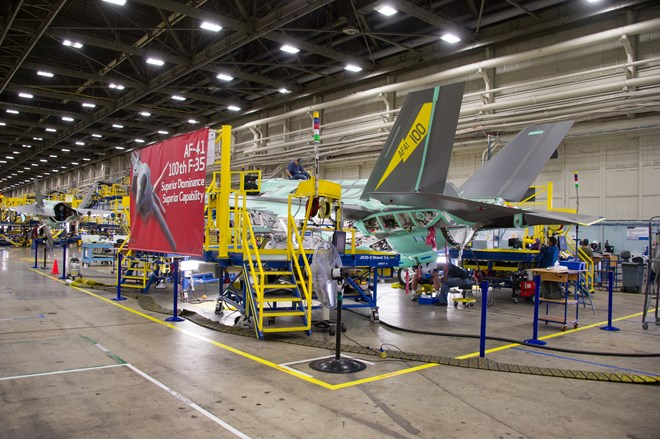 First F-35A bound for Luke AFB - USAF