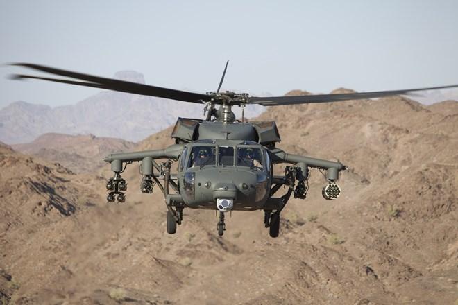Armed Black Hawk