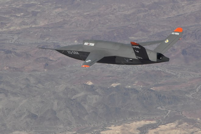 US Air Force Research Laboratory XQ-58A Valkyrie demonstrator
