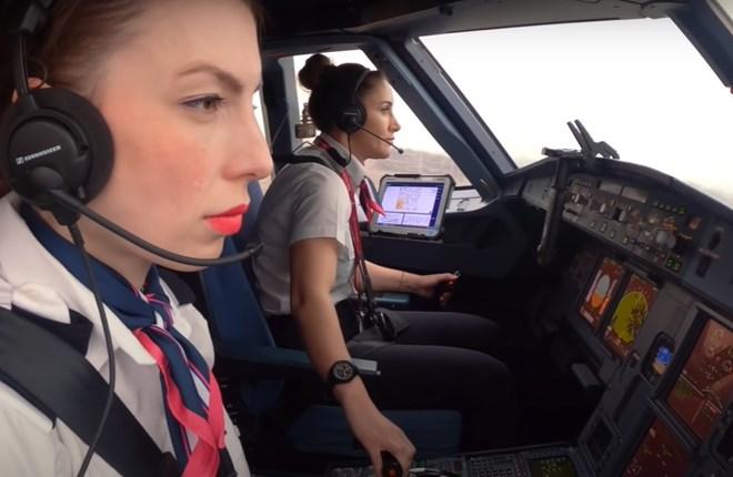 Wizz cockpit