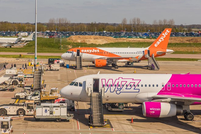 EasyJet and Wizz Air