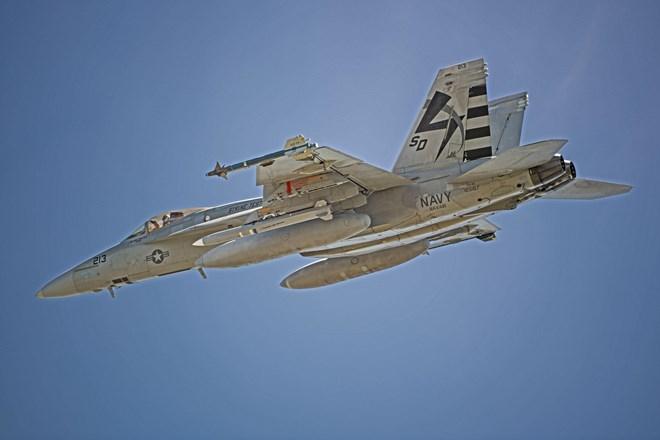 US Navy captive carry test AARGM-ER on FA-18E
