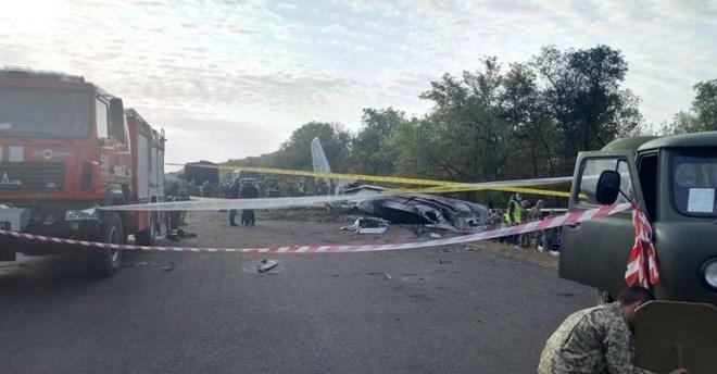 An-26 crash site