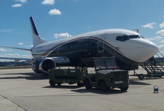 Klasjet 737-500 incident
