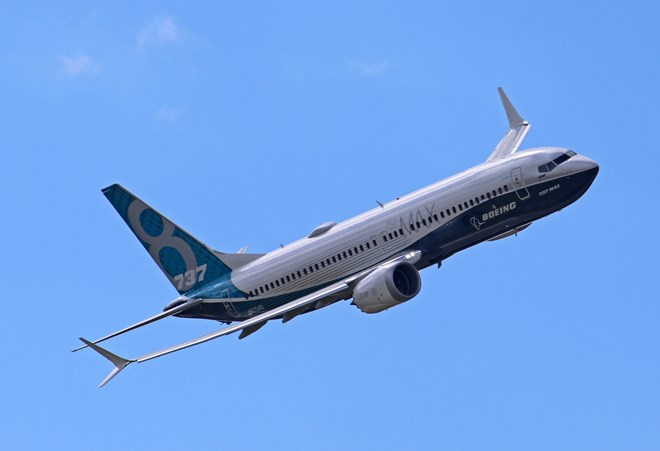 Boeing 737 Max 8 house colours 2