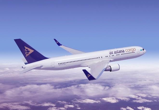 Air Astana 767-300ER cargo