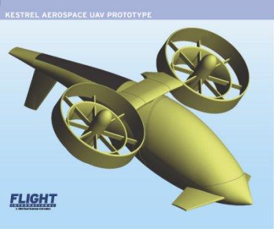 Kestrel UAV Big