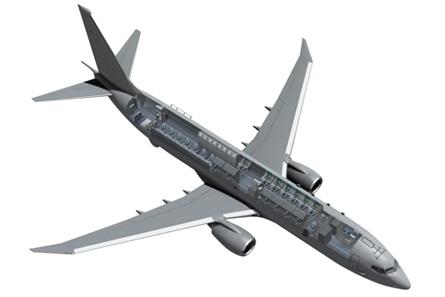 737 SIGINT cutaway