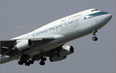 Boeing 747BCF delivery to Cathay W445