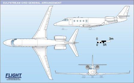 G 150 General arrangement W445