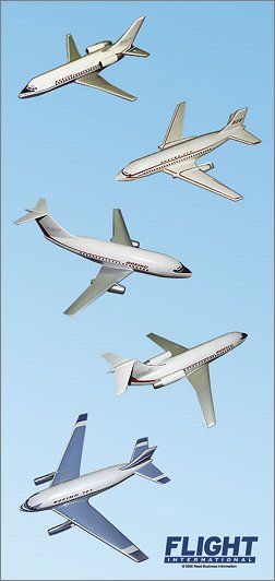 Initial Boeing 737 concepts
