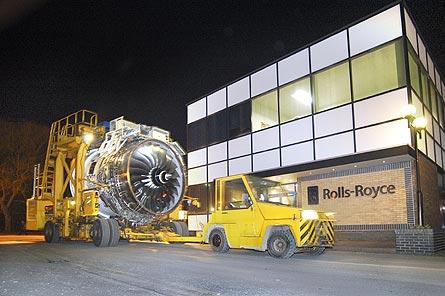 R-R Trent 1000 test 03 W445