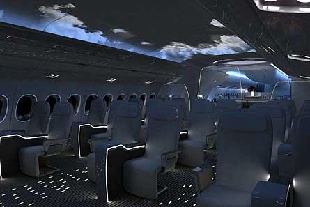 A350 cabin nighttime W445