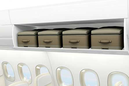 A350 cabin trolley bags W445