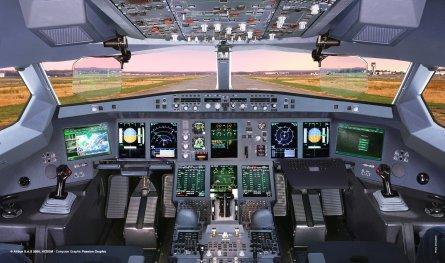 A350 flightdeck W445