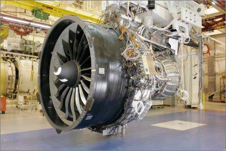 GE nx engine Fan W445