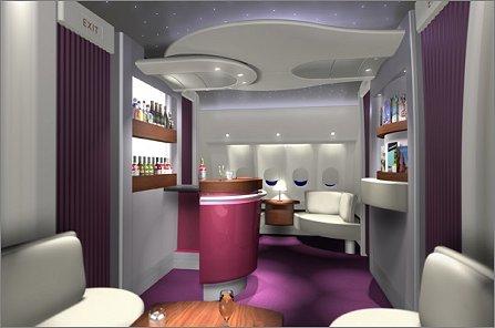 Qatar first class lounge W445