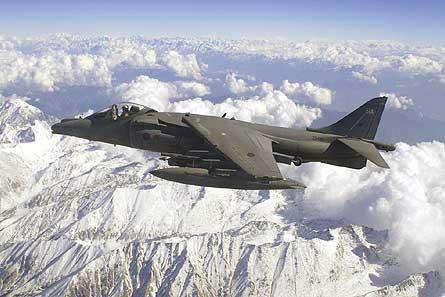 Sea Harrier in Afghanistan W445
