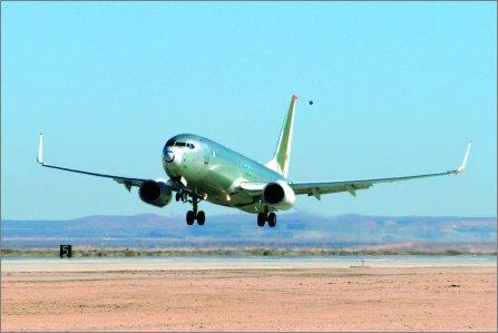 737-800 winglet test w445