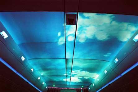 A350 ceiling W445
