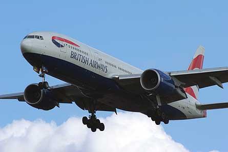 BA Boeing 777-200 LHR W445