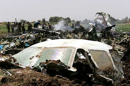 Libyan An-74 crash W445