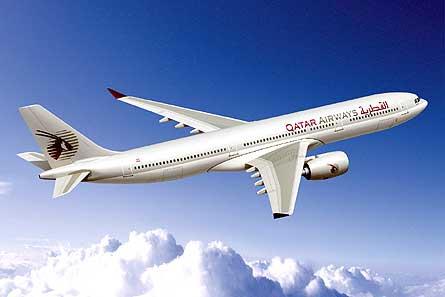 Airbus A350 Qatar W445