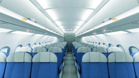 A320 cabin