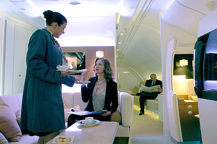 A380 break-out lounge