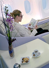A380 business class seats