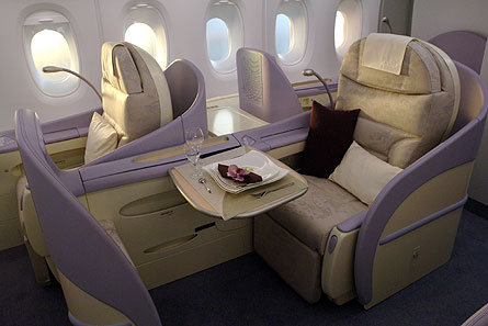 A380 Business First class