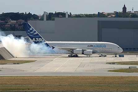A380 GP7200 engine run
