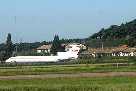 Air Koryo Tu-154 prang W445