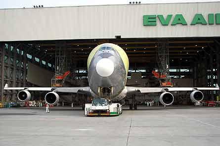 LCF roll-out EVA hanger