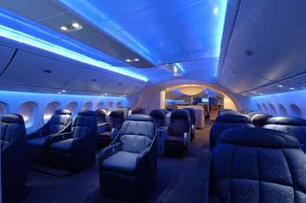 787 cabin