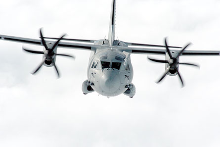 C-27J Spartan Lockheed Alenia cloud