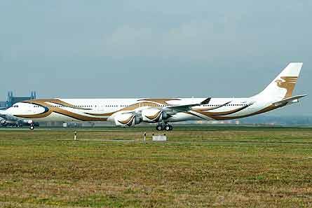 A340-600 VIP W445