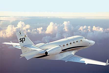 Grob SPn in flight W445