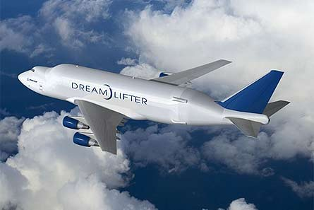Dreamlifter B747-400 LCF W445
