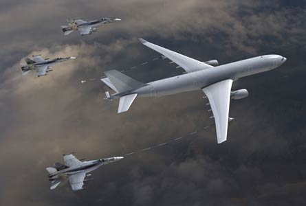 KC-30 with F18s